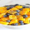 fruit chia aamiainen|onnellinen ja terve